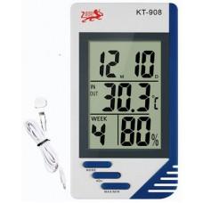Термометр гигрометр KT-908