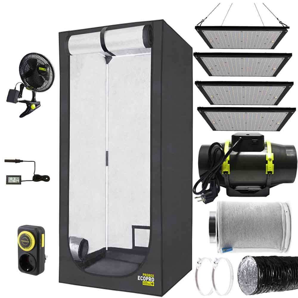 Гроубокс с оборудование ProBox EcoPro 120 LED 480W