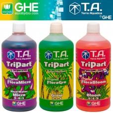 Комплект TriPart Gro+Micro+Bloom HW 3x1 л
