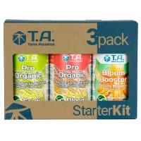 Набор Удобрений Terra Aquatica Pro Organic 3x0.5 л