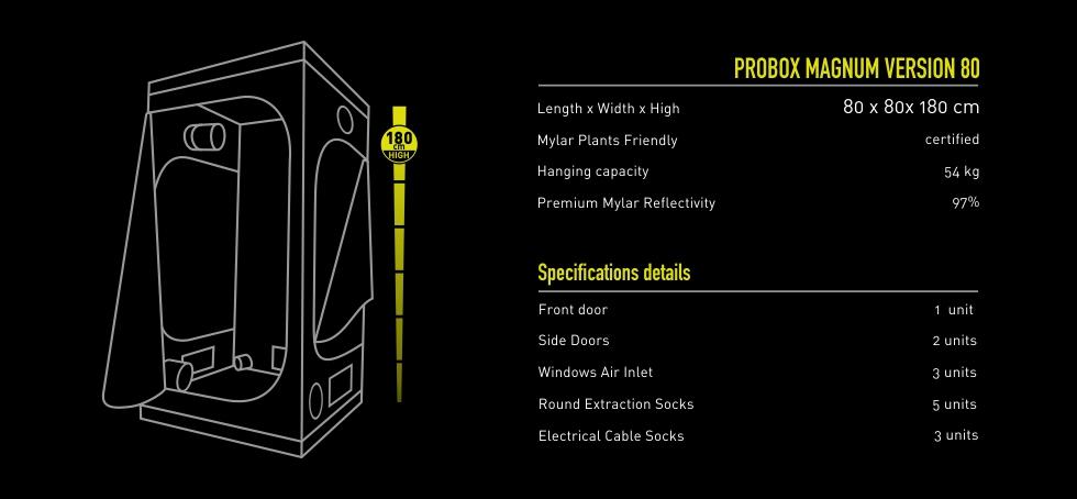 Garden Highpro Probox Magnum 80