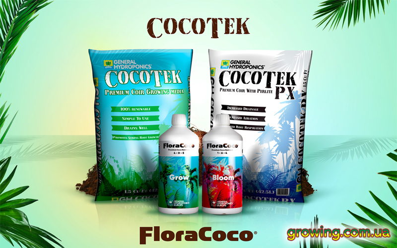 Фото Flora Coco удобрение для кокосового субстрата